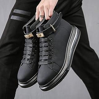 N-B Uomo Stivali, Cuscino Mid-cut Scarpe, Uomo Casual Trend Board Shoes, Soft Bottom Trendy Brand Gioventù Scarpe Bianche