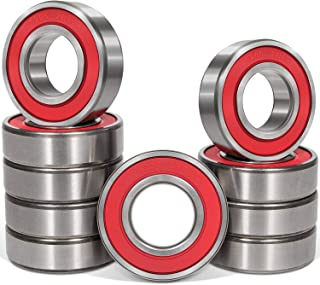 4PCS 6205-2RS Ball Bearing Dual Sided Rubber Sealed Deep Groove