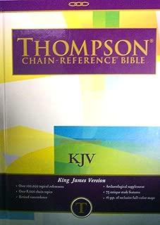 KJV - Hardcover - Regular Size - Thompson Chain Reference Bible (015131)