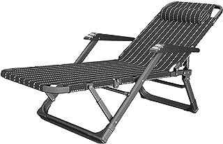 Recliner Office Relax Chair Ergonomic Lounge Chair Tilt Mechanism with Headrest Outdoor Seat Sun Lounger Adjustable Footre...