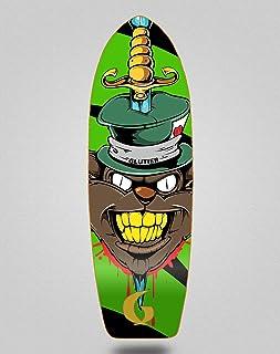 Glutier Surfskate Skate Skateboard Deck Gr Cat Gre...