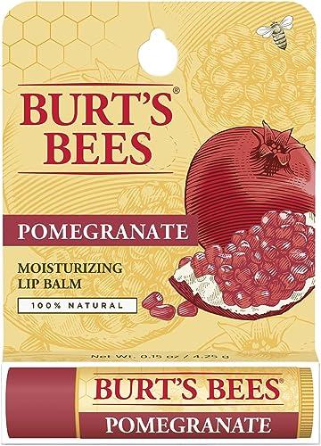 Burt's Bees Pomegranate Lip Balm, 1 Tube