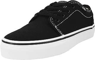 Kids/Youth 106 Vulcanized Black/White Skate Shoes Boys/Girls Sneakers