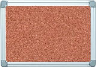 "MasterVision Earth Cork Bulletin Board, 18"" x 24"", Pin Board with Aluminum Frame"