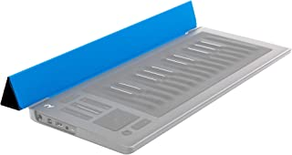 ROLI | Flip Case for RISE 25, Protects Keywave Surface From Wear & Tear, Built-in Mobile Device Stand and Incline Bar (Sky Blue)