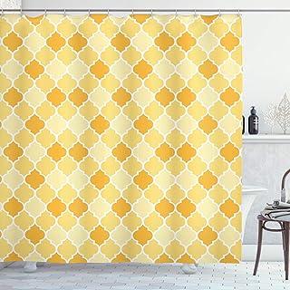 petg Brentwood cortina de ducha Mostaza de amarillo Chevron muchos Sch/öne ducha cortinas para elegir antimoho para efecto de 180/x 200/cm de alta calidad resistente al agua
