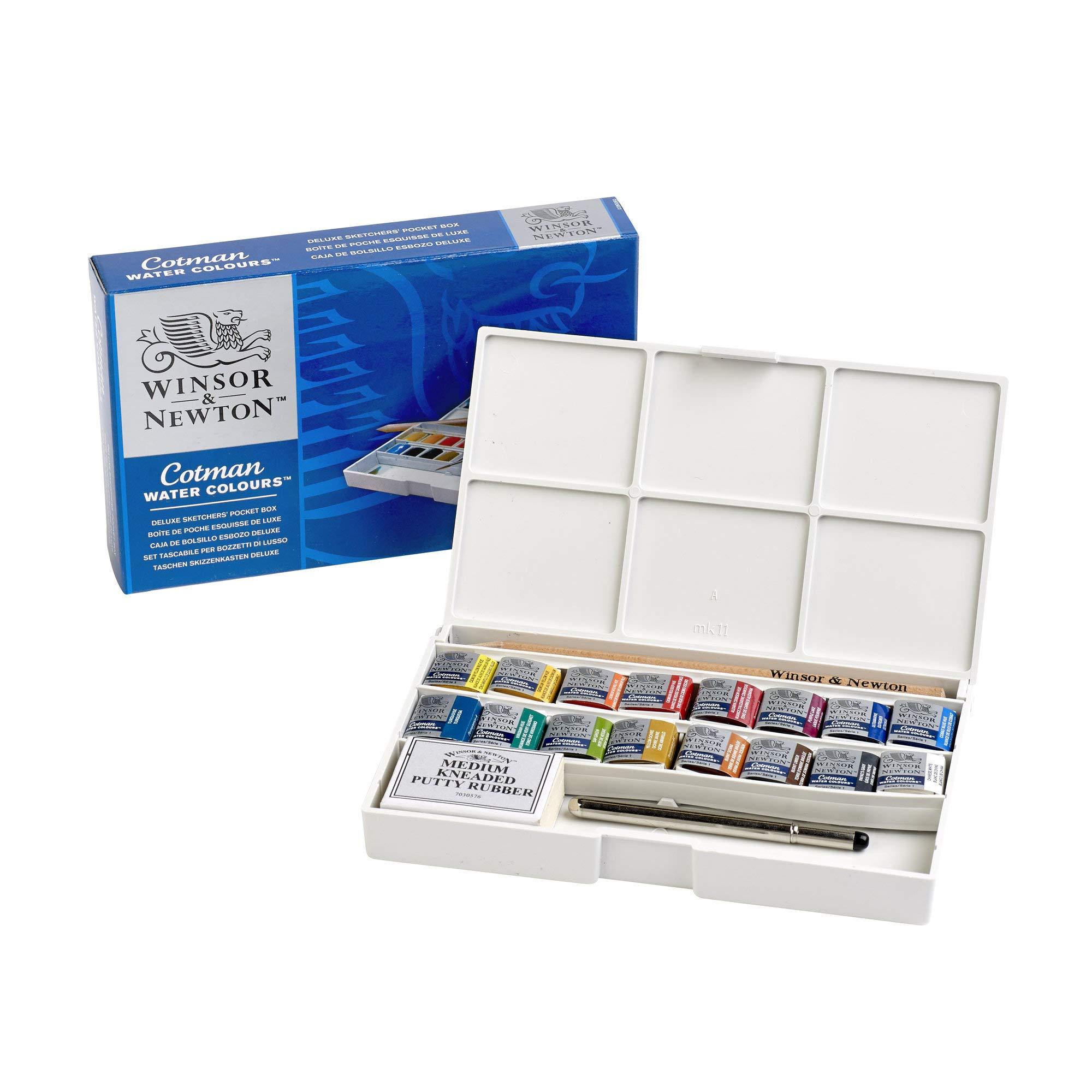 Winsor & Newton Cotman Acuarelas, caja de bolsillo Sketcher de ...