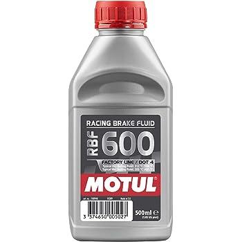 Motul MTL100949 8068HL RBF 600 Factory Line Dot-4 100 Percent Synthetic Racing Brake Fluid-500, 300. ml
