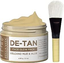 Bella Vita Organic DeTan & Skin Tightening Face Pack with Bentonite Clay (50g)
