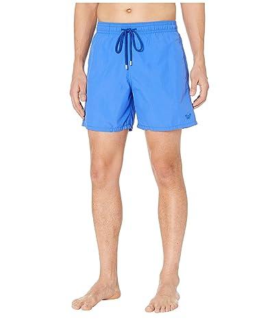 Vilebrequin Aquareactive Crabs Moorea Swim Trunks (Royal Blue) Men