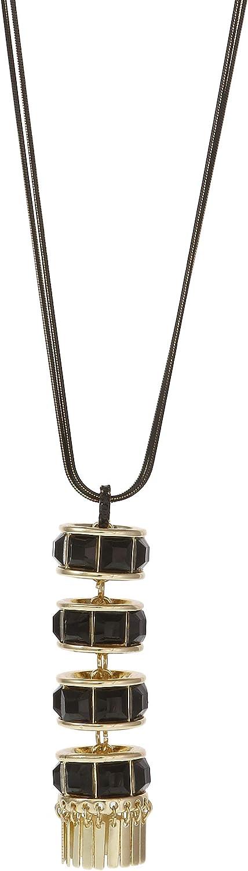Christian Siriano New York Stone Pendant Y Necklace