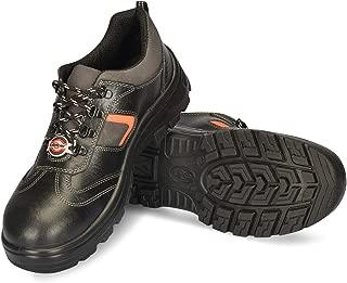 Lancer 506 Men's Safety Shoe with Fibre Composite Toe Cap Size_6 UK Black