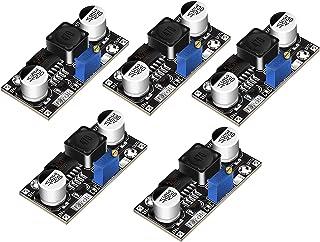 DROK 5 Pcs DC Step Down Variable Voltage Regulator 36V to 24V 12V 5V 3.3V 3V Buck Converter Electronic Volt Stabilizer Car...