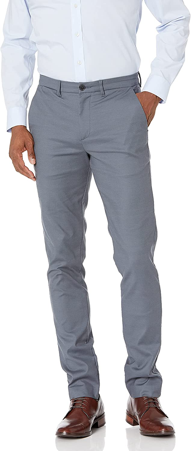 Calvin Klein Men's Modern Stretch Chino Wrinkle Resistant Super sale period limited San Diego Mall Pants