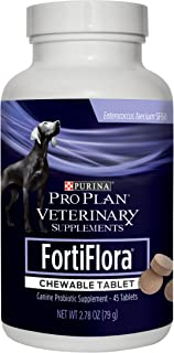 Purina FortiFlora Probiotics for Dogs, Pro Plan...
