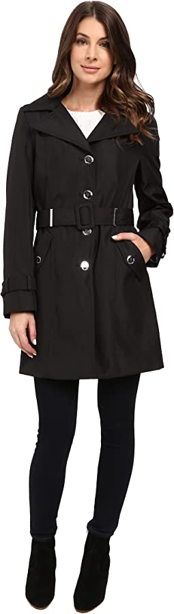Calvin Klein - Single Breasted Rain Trench
