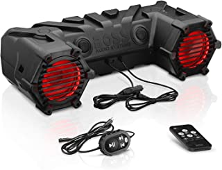 BOSS Audio Systems ATV30BRGB ATV UTV Weatherproof Sound System – 6.5 Inch Speakers,..
