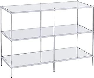 Southern Enterprises Knox Console Table, Silver