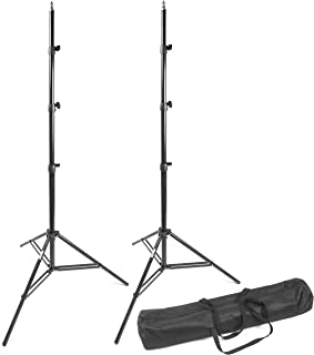 PHOCUS 8.8ft Compact Aluminum Tripod Heavy Duty Light Stands with Carrying Bag for Photography Video and Portrait Lighting...