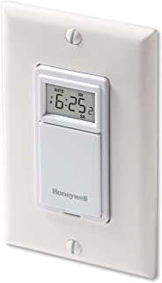 Honeywell RPLS730B1000/U RPLS730B1000 7-Day Programmable Light Switch Timer, White