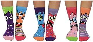 Miss Masher - Caja de 6 calcetines para niñas, multicolor, talla 38 - 38