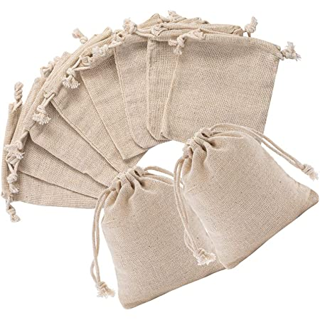 shower favor bag fabric bags Wholesale gift bags Muslin Bags 125 Drawstring bags  4 x 6 Cotton wedding favor bags party favor bags