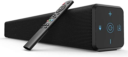 Norcent Black Mamba KB-2020 Series,Model MB-3221NS,2.1 Channel Bluetooth 5.0 TV Soundbar with Built-in Dual Subwoofer TV S...
