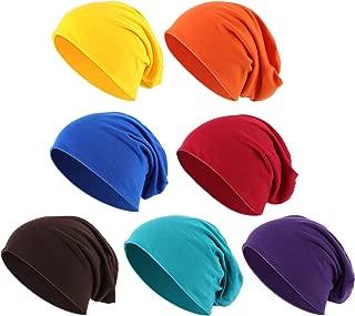 Thin Knit Slouchy Cap Beanies Hat Hip-Hop Sleep Cap Dwarf Hat