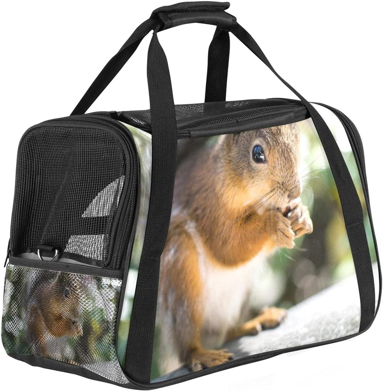 Latest item Airline Approved Soft Large-scale sale Sided Pet Tote Carrier Series Low Profile