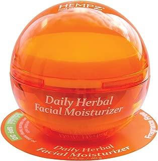 Hempz Daily Herbal Facial Moisturizer With Spf 30, Fragrance-free, 1.4 Oz, 1.4 Oz