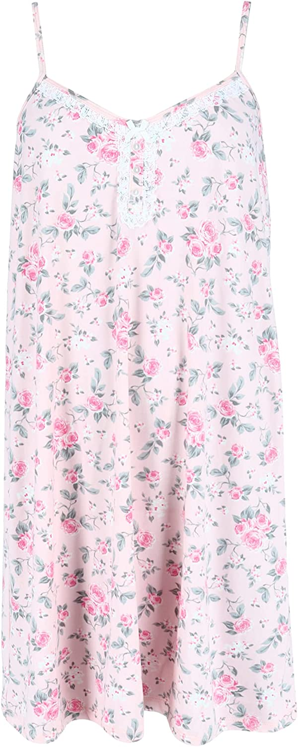 Super beauty product restock quality top! Rene Rofe Women's Floral Print Nightgown Cami SALENEW very popular