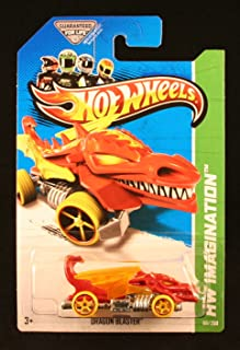 Hot Wheels 2013 HW Imagination Dragon Blaster 68/250, Red