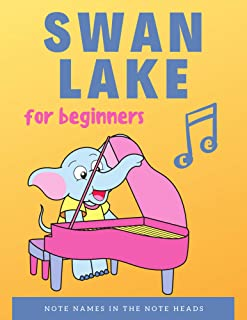 Swan Lake - Tchaikovsky – VERY EASY Piano + Music Guide fo