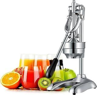 OZAVO Exprimidor Manual de Palanca Exprimidor de Fruta/Naranja/Granada/Limón Profesional Exprimidor de Zumo a Mano Multi F...