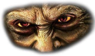 Forum Novelties Creepy Cling Set -Eyez (Set of 3), Multi