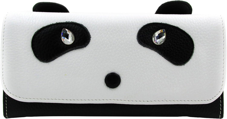 overseas ArtsEye Genuine Leather Cute 2021 model Clutch Wallet Panda Envelop