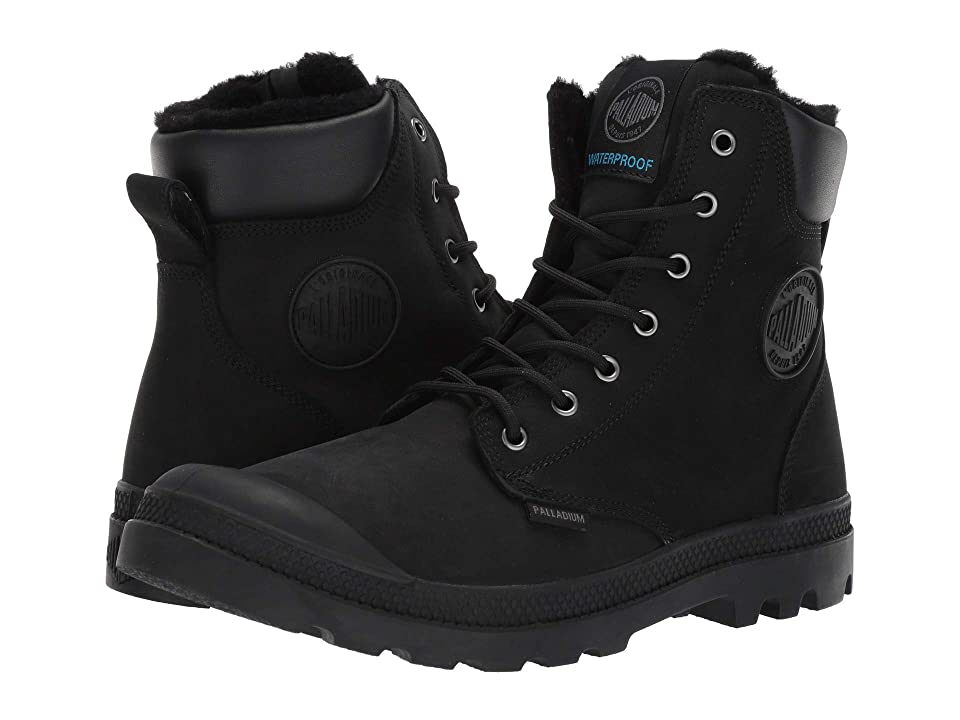 Palladium Pampa Sport Cuff WPS (Black/Black) Boots