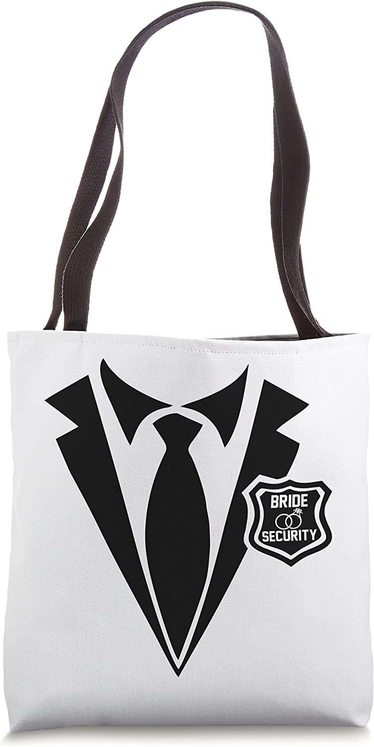 Bride Security, Bridal Party Gifts for Bridesmaids Tote Bag