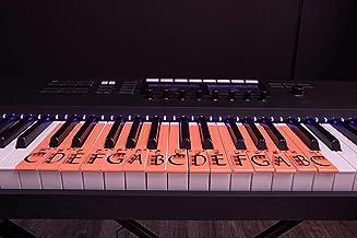 U-Keys Educationoal Piano and Keyboard Music Notes Or Full S