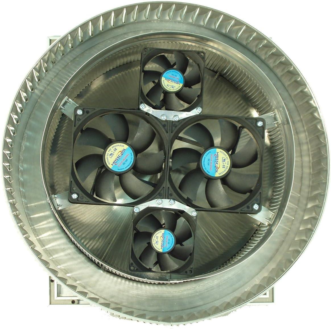 12 Aura Solar Attic Fan Amazon Com