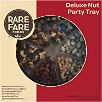 Rare Foods Deluxe 13.75oz 6 Nut Mixes Party Tray
