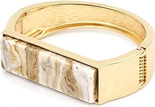 Buckle Bangle Bracelet for Women Alloy Cuff Bracelet