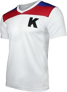 Kickers Fußball-Trikot | Die Kultserie aus der Kindheit für Männer, Faschingskostüm & Mallorca Outfit Nostalgie T-Shirt | Perfekte Geschenkidee