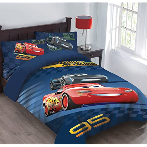 4 Piece Disney Cars Fastest Team Toddler Bedding Set