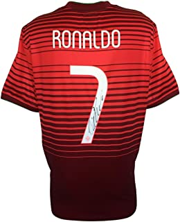 Cristiano Ronaldo Signed 2014 Nike Portugal National Team Soccer Jersey Icons
