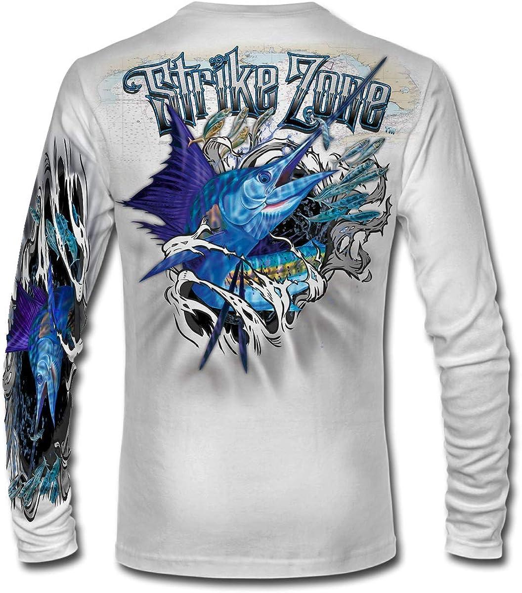 Jason Mathias Strike Zone Branded goods Sailfish High Performance Shirt LS Max 86% OFF