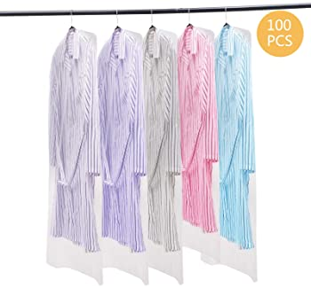 Printed Shirts Suits Tops Gowns Clothes Dress Bags Cover Garment Protector