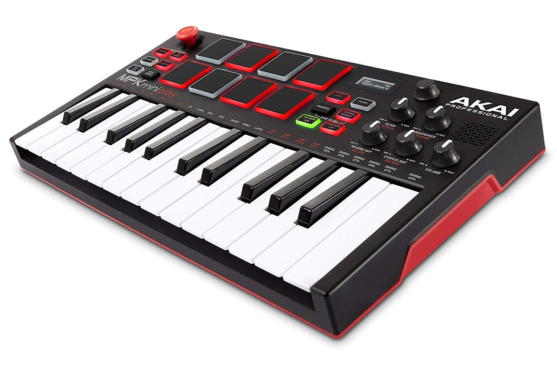 Amazon.co.jp: Akai Professional スタンドアローン・MIDIキーボード ...