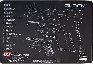 Glock Store Gen 3 Schematic Bench Mat