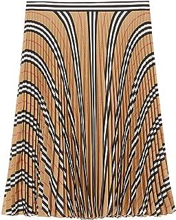 BURBERRY Luxury Fashion Womens 8025671 Beige Skirt |